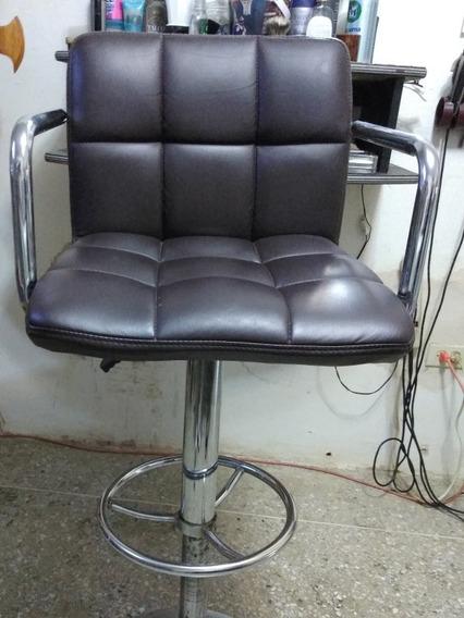Silla Barbería Barbero Con Sistema Hidráulico
