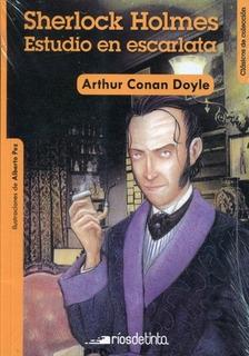 Sherlock Holmes: Estudio En Escarlata - Clasicos De Coleccio