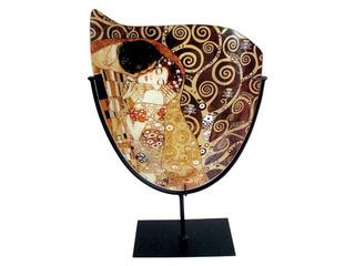 Florero En Cristal Con Forma Puntuda El Beso Klimt
