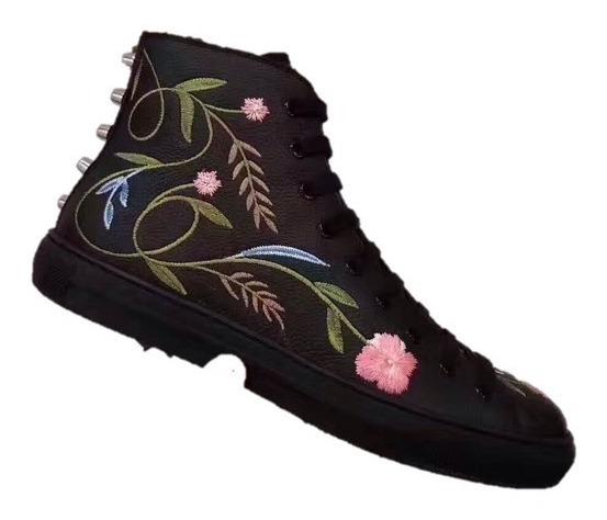 Botas Gucci Flores