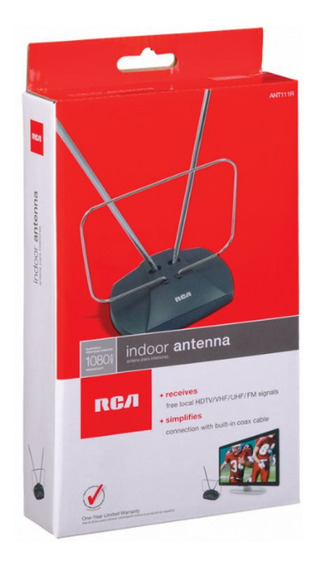 Antena Interna Digital Hd Rca