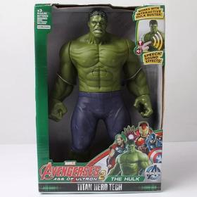 Boneco Articulável Avengers Vingadores Incrivel Hulk C/ Som