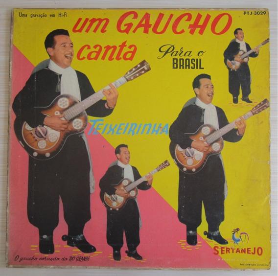 Lp Teixeirinha Um Gaucho Canta Para O Brasil