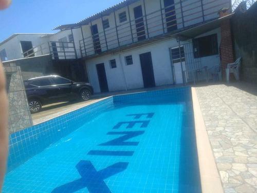 Imagem 1 de 13 de Casa Com Piscina Praia De Itanhaém Litoral Aluguel Temporada