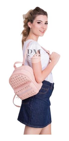 Mochila Mujer 100 % Cuero Pu Urbana Moderna - Mochilas Dama Directo De Fabrica