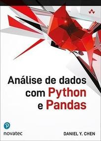 Livro: Análise De Dados Com Python E Pandas Editora Novatec