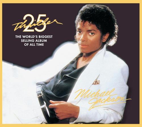 Michael Jackson Thriller 25th Anniversary Edition Dvd Cd
