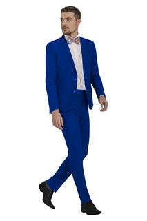 Terno Slim Oxford Barato 3 Cores + Sapato Social