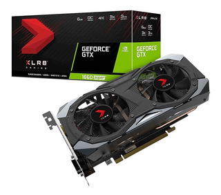 Placa Video Pny Geforce Gtx 1660 Super Xlr8 Dual 6gb Gddr6