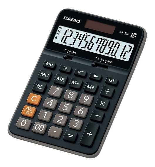 Calculadora De Escritorio Casio Ax-12b