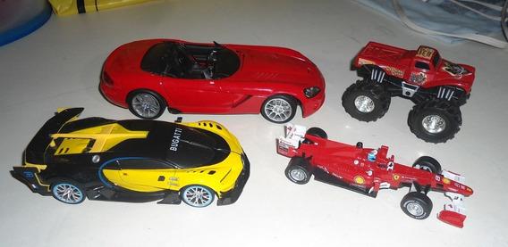 Lote De Vehiculos A Escala Maisto, Burago, Bugatti
