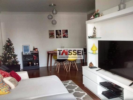 Apartamento À Venda, 102 M² Por R$ 640.000,00 - Vila Gumercindo - São Paulo/sp - Ap1608