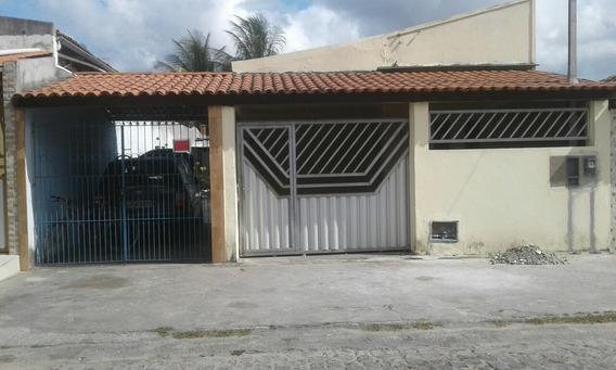 Casa Com 3/4 Suít Banheiro Sala Cozinha Varando Garagem