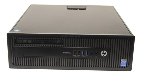 Cpu Hp Prodesk 600 Sff Intel Core I3 3.40ghz 120gb Ssd 4gb
