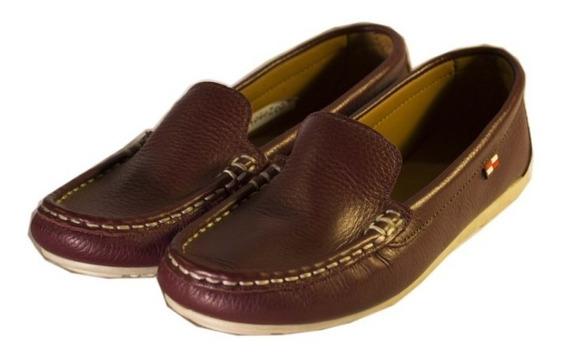 Zapatos Nauticos Violeta 0025 Mujer Divinos Nuevos Oferta!!!