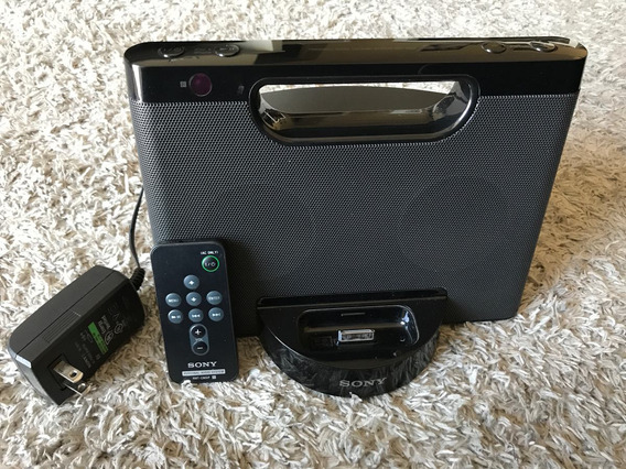 Dock Station System Sony Para iPhone 4, 4s, iPod Rdf-m5ip