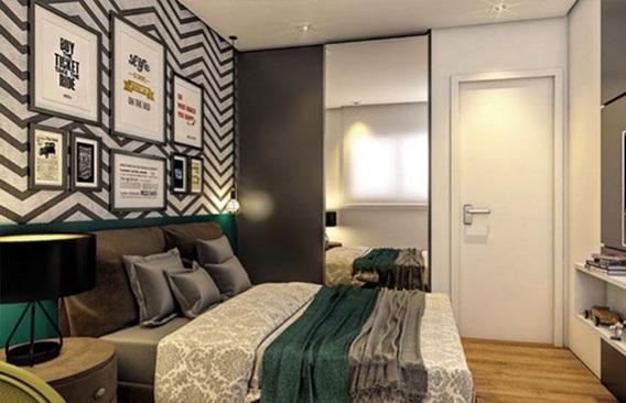 Studio Com 1 Dormitório À Venda, 36 M² Por R$ 340.000 - Jardim Anália Franco - São Paulo/sp - St0113
