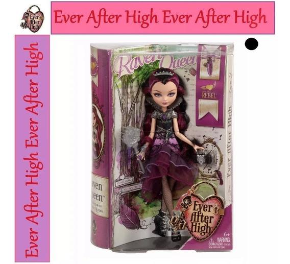 Ever After High Raven Queen 1ª Edição Wave 2013 Cod. Preto