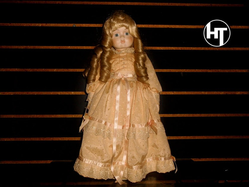 Imagen 1 de 10 de Muñeca De Porcelana, Betty Jane Carter Dolls, Muñeca