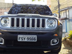 Jeep/renegade Limited At 1.8 Cinza 4p