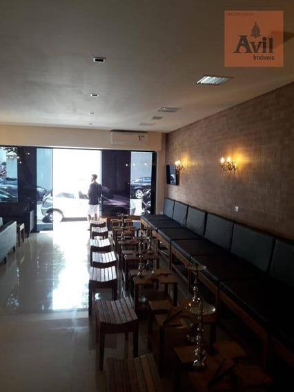 Salão Para Alugar, 140 M² Por R$ 9.680,00/mês - Vila Gomes Cardim - São Paulo/sp - Sl0095