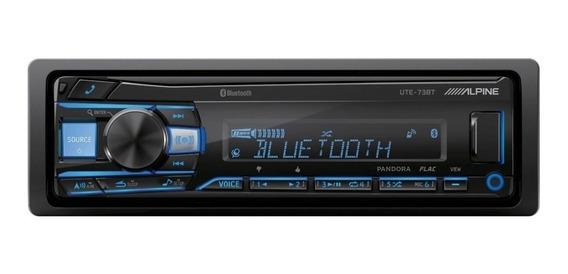 Estéreo para auto Alpine UTE-73BT con USB y bluetooth