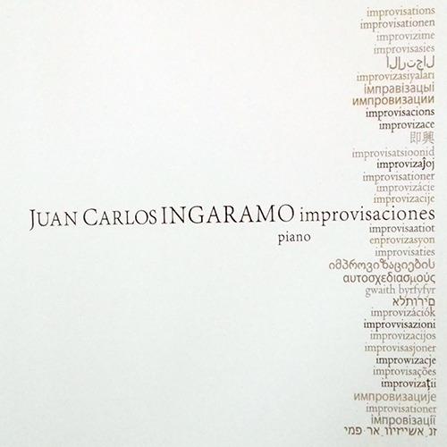 Juan Carlos Ingaramo - Improvisaciones (piano) - Cd