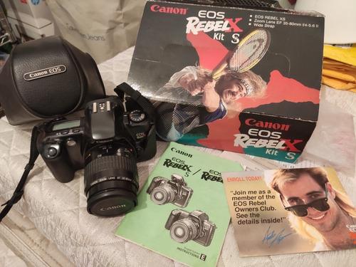 Canon Eos Rebel Xs Analógica (filme) Com Caixa