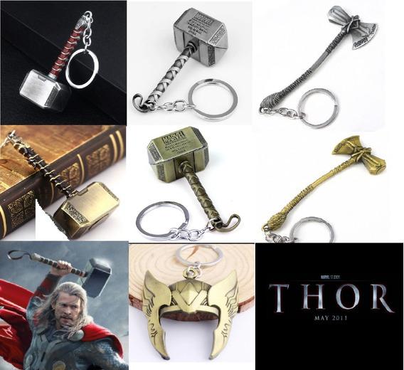 Chaveiro Martelo Mjolnir Ou Stormbreaker Thor Vingadores