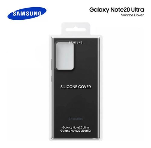 Case Samsung Galaxy Note 20 Ultra Silicone Cover Genuino
