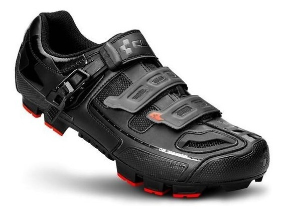 Zapato Para Ciclismo Mtb Cube Pro Black Line Talla 26.5cm