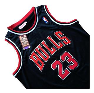 Nba Camiseta Vintage Michael Jordan #23 Doble Bordado