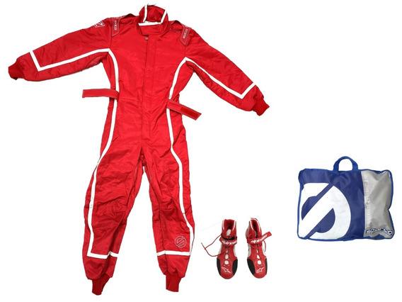 Sparco 002334NRCE2M Suit Groove KS3 M Blk//Cel