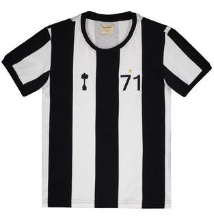 Camisa Alvinegro Retrô 1971 Juvenil