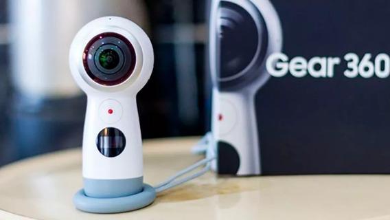 Câmera Gear 360 (2017) Branca - Samsung
