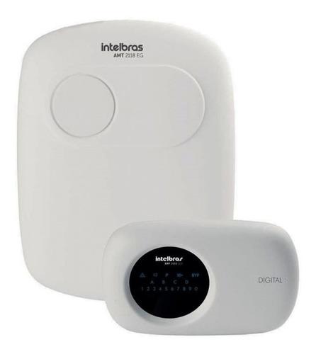 Central De Alarme Intelbras Amt 2118-eg Monitorada