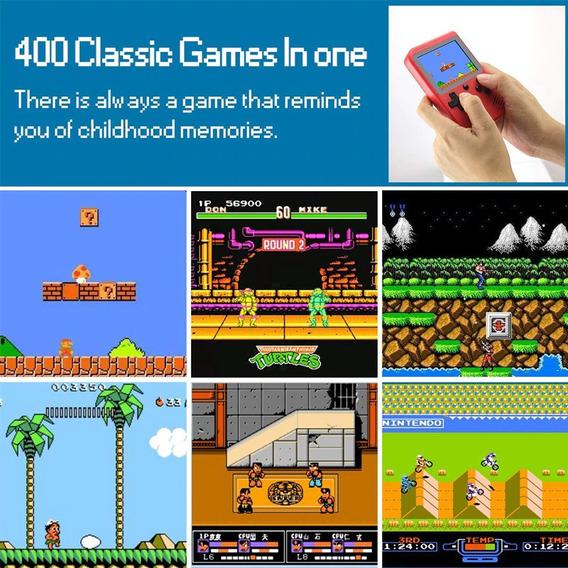 Mini Video Game Criança Adulto Barato Moda Antiga