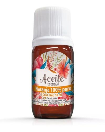 Imagen 1 de 1 de Naranja 10 Ml Aceite Esencial 100% Puro