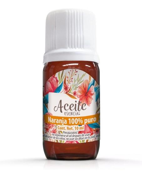 Naranja 10 Ml Aceite Esencial 100% Puro
