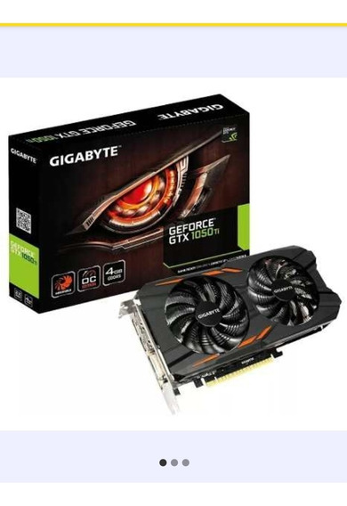 Placa De Video Gigabyte Windforce 1050 Ti Oc 4gb-no Permuto!