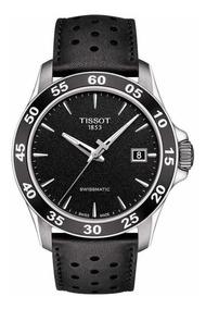 Reloj De Hombre Tissot V8 Automático Esfera Negra
