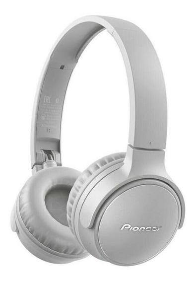 Fone De Ouvido Pioneer On Ear S3 Wireless Se-s3bt-h Cinza