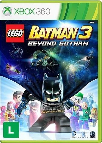 Jogo Lego Batman 3 Beyond Gotham Xbox360 Ntsc Em Dvd Origina