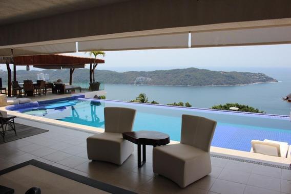 Casa En Renta Vacacional Lomas Del Marqués Acapulco
