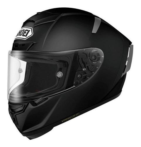 Capacete para moto  integral Shoei  X-Spirit III  preto-fosco tamanho L