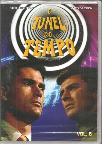 Dvd O Túnel Do Tempo Vol. 6 - Robert Colbert, James Darren
