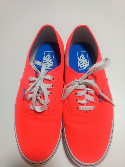 Tenis Vans Authentic Original Laranja Neon