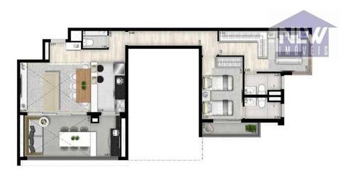 Imagem 1 de 17 de Apartamento À Venda, 95 M² Por R$ 1.724.882,00 - Vila Clementino - São Paulo/sp - Ap3306