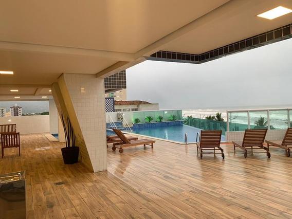 Apartamento C/ Vista Para O Mar. Ref. 1000 M H