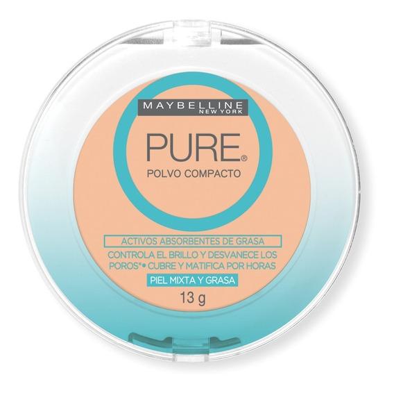 Polvo Compacto Pure Makeup Rostro Maybelline